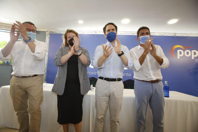 Toni Pérez asume el mando del PP provincial y apuesta por Ana Serna como su número 2