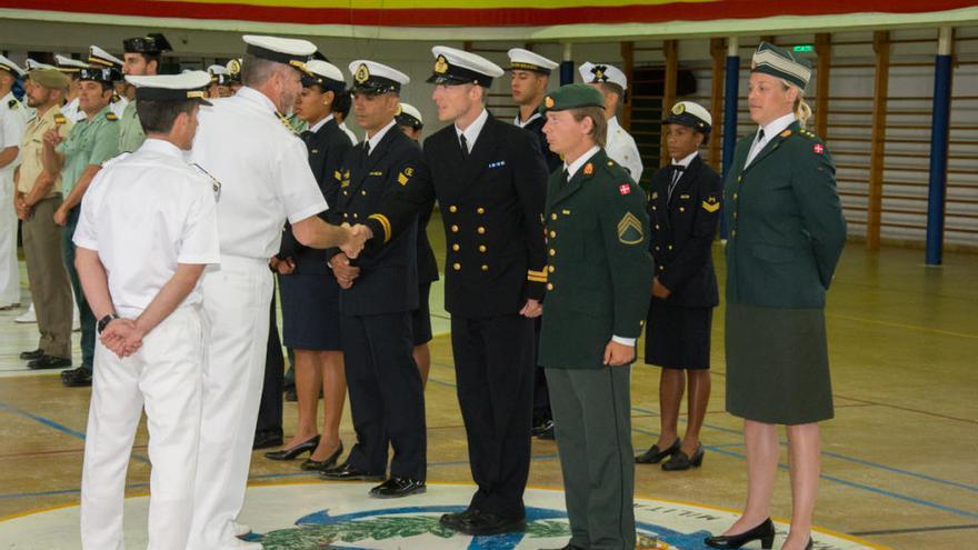 Cinco países participan en el Torneo Internacional de Pentatlón de la Escuela Naval