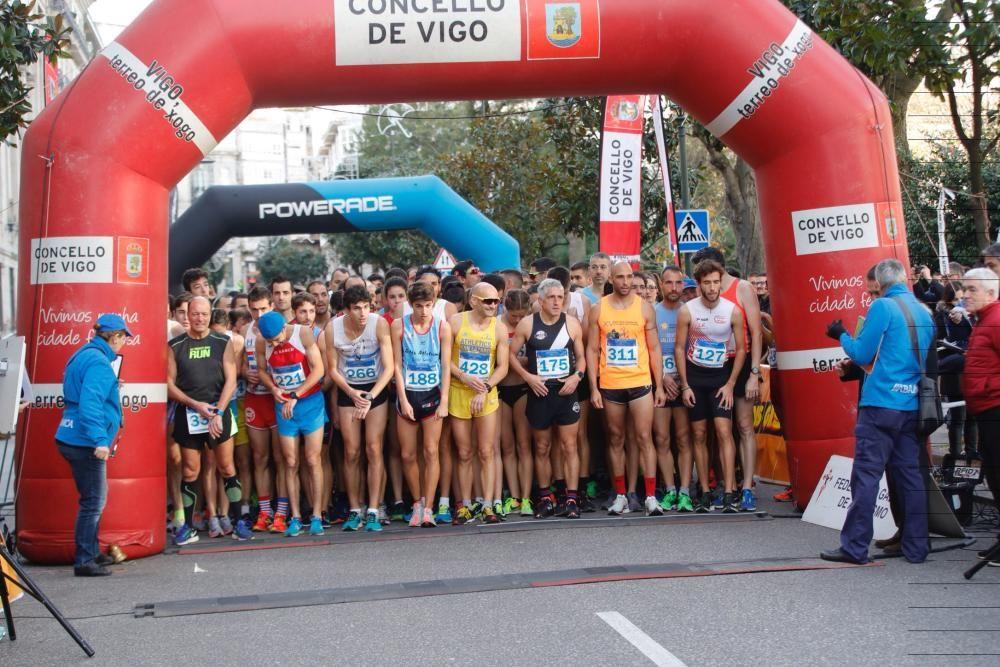 Imágenes de la Carrera del Pavo 2018 en Vigo: ¡Bús