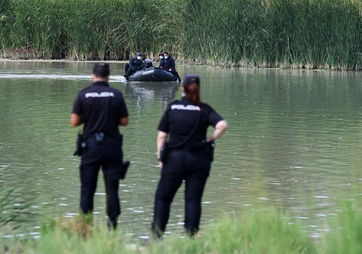 La Policía y el Ejército retoman la búsqueda de Morilla en el río