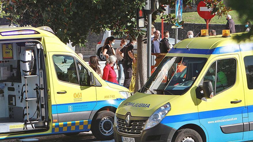 Fallece una septuagenaria en plena calle en Ourense tras sentirse indispuesta