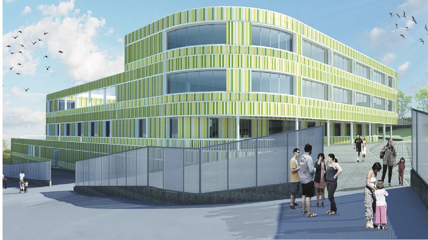 El diseño del nuevo IES de La Corredoria, pensado para la educación del siglo XXI