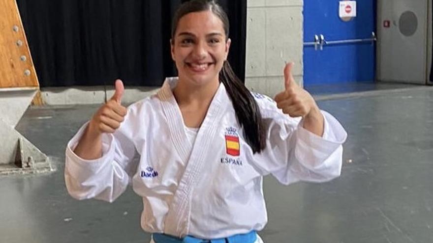 María Torres logra el subcampeonato de la liga mundial de Lisboa en la categoría +68kg