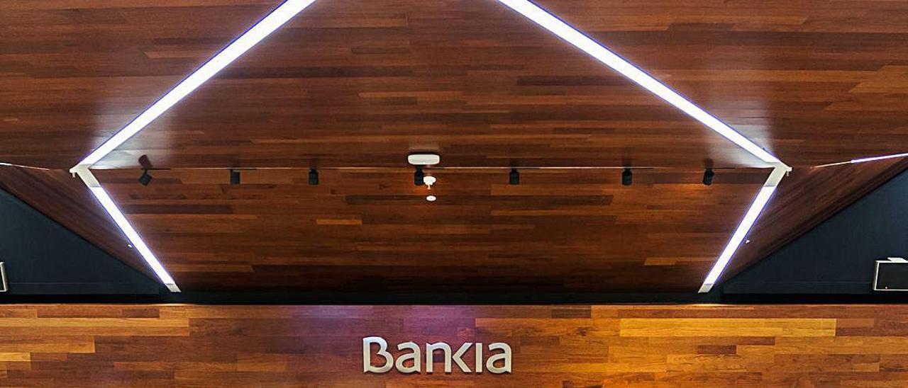 La presentación de los resultados de Bankia, ayer.