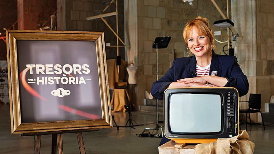 Carolina Ferre presentará 'Tresors amb història' en À Punt