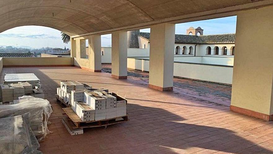 La segona planta del convent de Santa Clara s'adequa per a magatzems