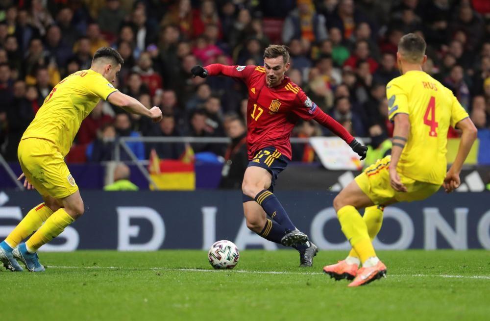 Fase de clasificación para la Eurocopa: España-Rumanía