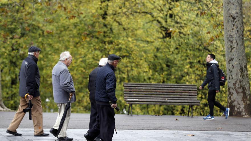 Jubilados de Castilla y León viajan a Bruselas para reivindicar sus pensiones