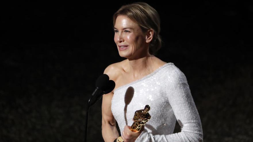 Renée Zellweger, premio a mejor actriz en los Oscar