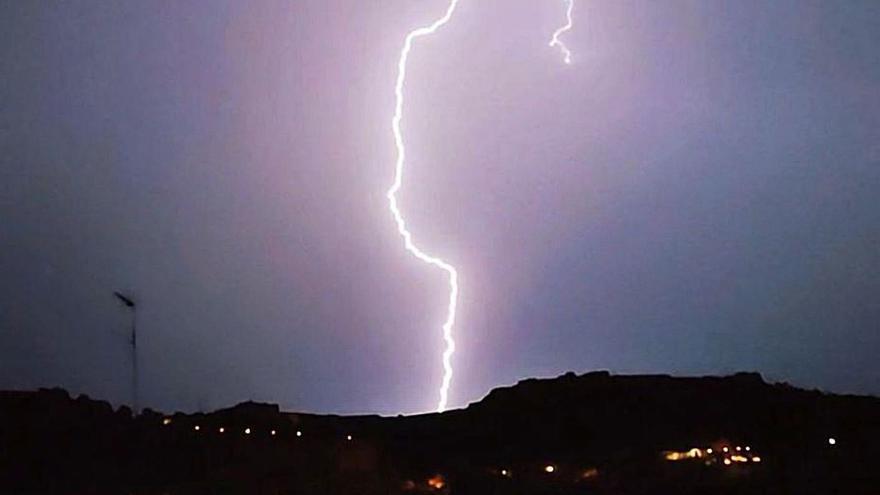 La última tormenta descargó casi medio centenar de rayos en Morvedre