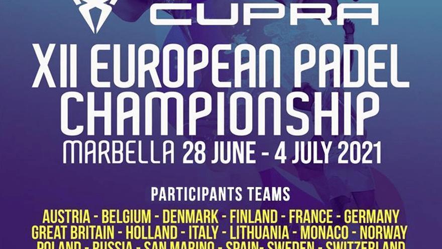 Marbella acoge el Europeo de pádel