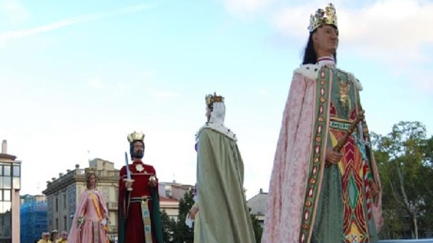 Desfilada dels Gegants de Girona