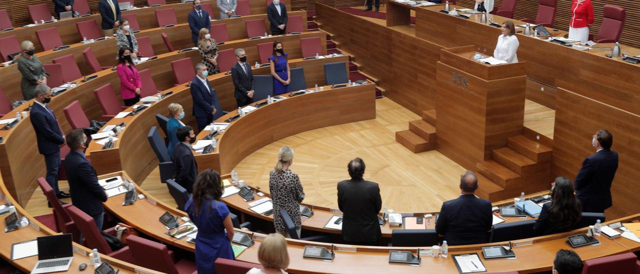¿Hay horizonte? Un momento del debate de política general celebrado esta semana en las Cortes Valencianas.