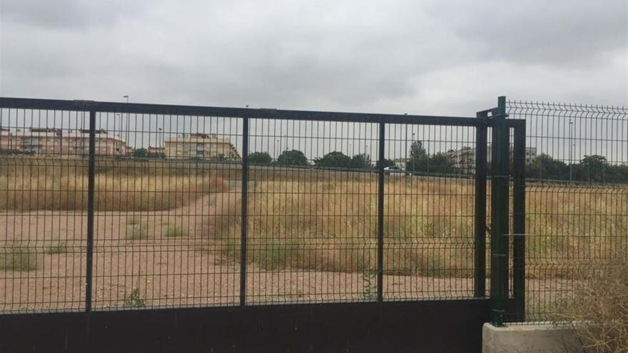 """El PP critica """"el abandono"""" del huerto urbano de la barriada de Miralbaida"""