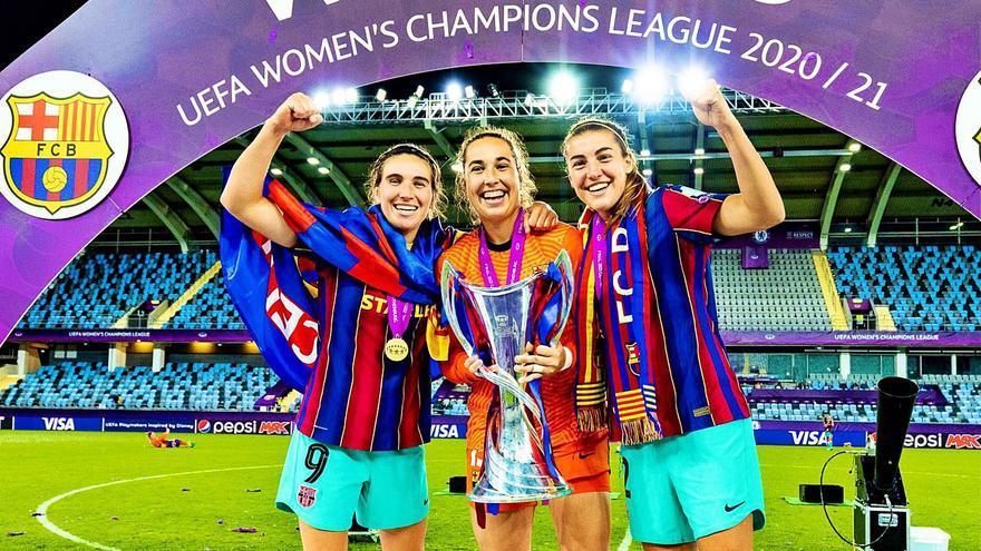 La Champions femenina con sabor balear: «Mallorquins i mallorquines aquí la  teniu»