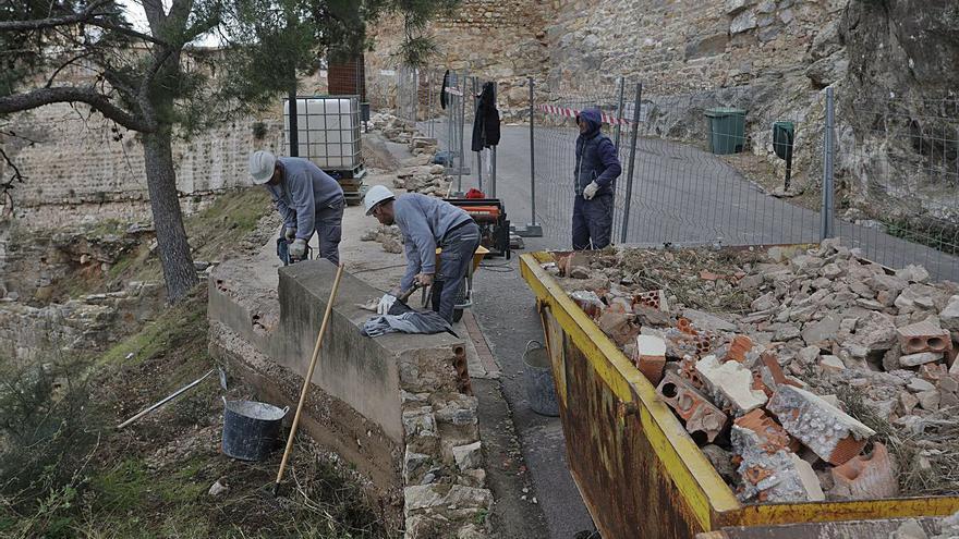 Arranca la puesta en valor de los restos iberos junto al Castillo de Sagunt