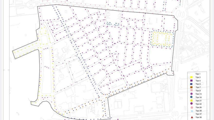 Dos millones para mejorar el alumbrado con tecnología led en cinco barrios de Alicante