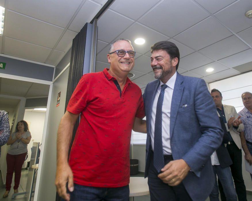 Pedro Espadero y Luis Barcala