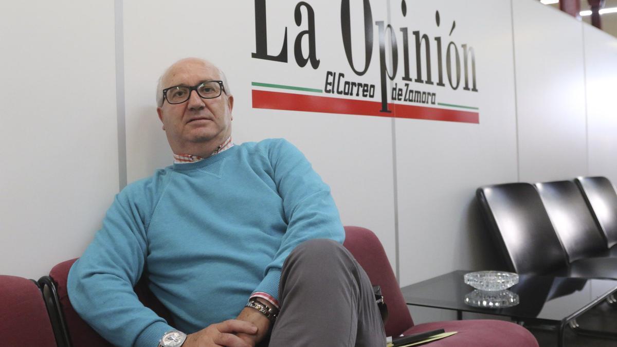 Eusebio Díez Pinilla, presidente de Adiza