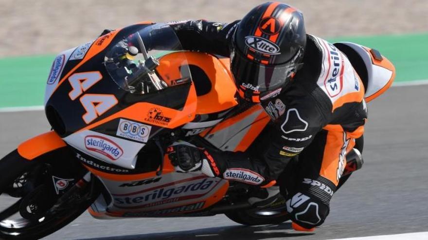 Canet, primer 'poleman' de la temporada en Moto3
