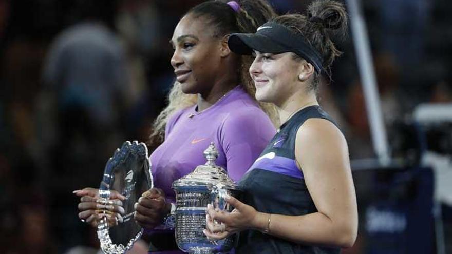 Una indomable Bianca Andreescu le arrebata el US Open a Serena Williams