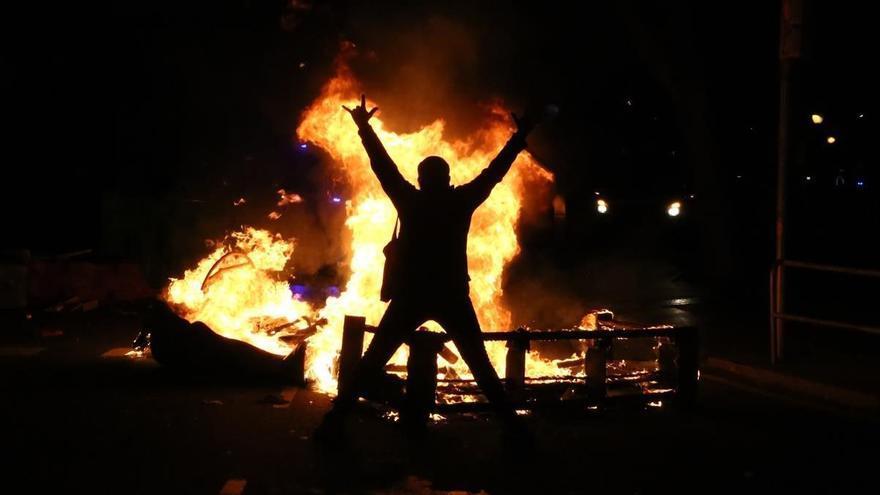 Detenidas 18 personas por pillaje en Barcelona durante los disturbios por Hásel