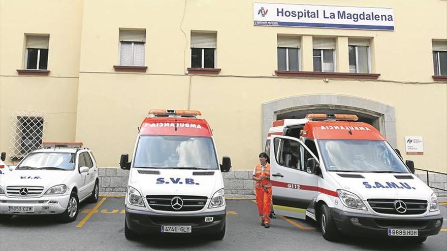 El Hospital de La Magdalena anula el plan para tapar sus carencias tras la bronca sindical