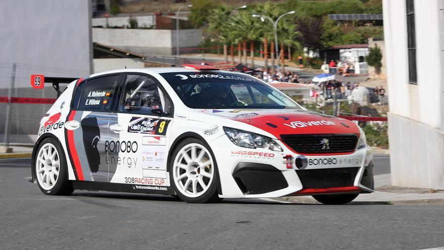 El cordobés Alberto Valverde gana el Rally Crono de Espiel