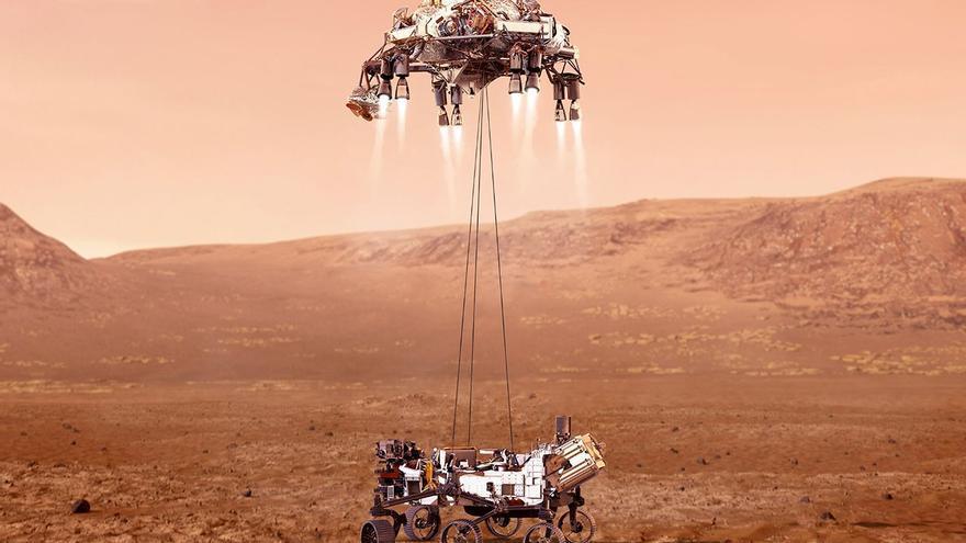 El Perseverance busca señales de vida tras confirmar que hubo agua en Marte