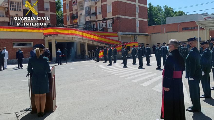 La Guardia Civil de la Región celebra el 177º aniversario de su fundación