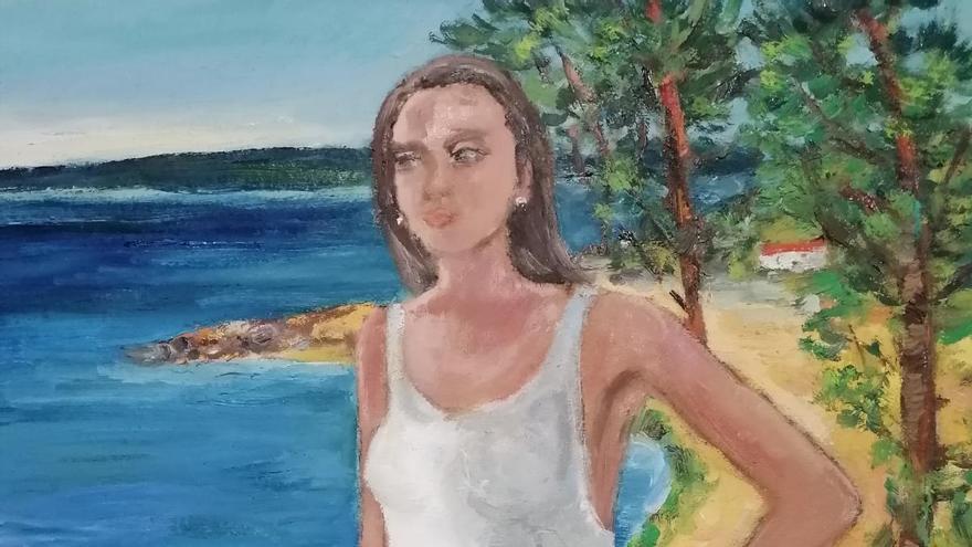 L'artista Silvia G. Armesto homenatja les mares del món amb la inspiració de Portbou