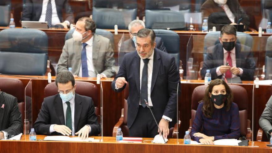 El consejero de Justicia de Madrid, Enrique López, niega haber negociado con Bárcenas