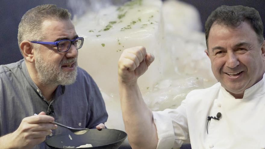 Els trucs de Martín Berasategui per a un bacallà «supersenzill» i «superbo»