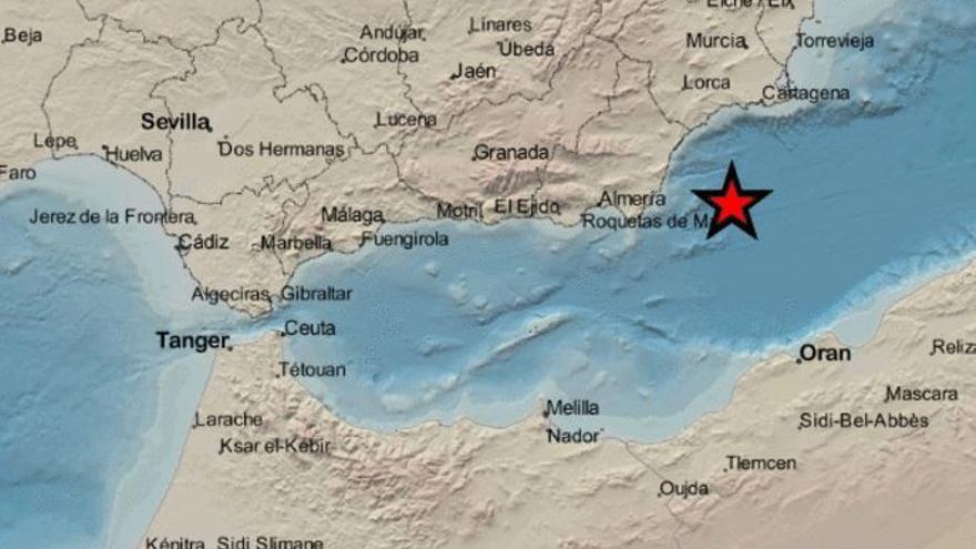 Un terremoto sacude Cabo de Palos por tercer día consecutivo