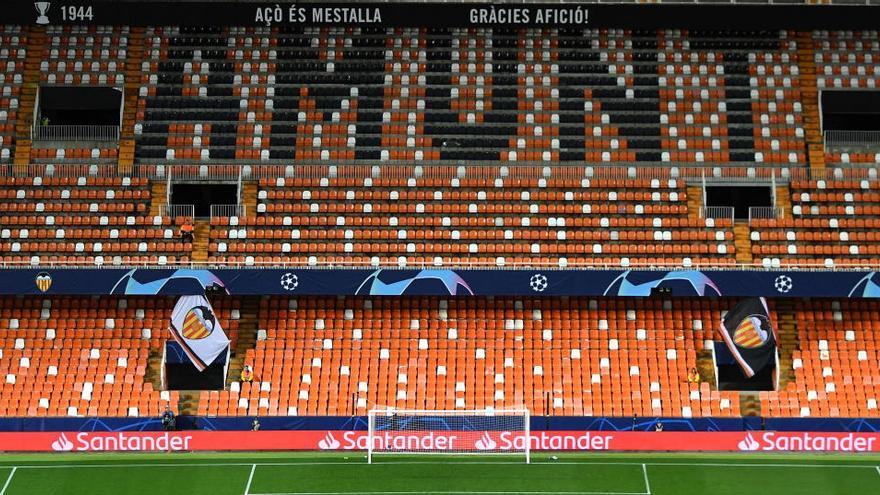 El Valencia quiere acabar la  Liga pero sin riesgos sanitarios