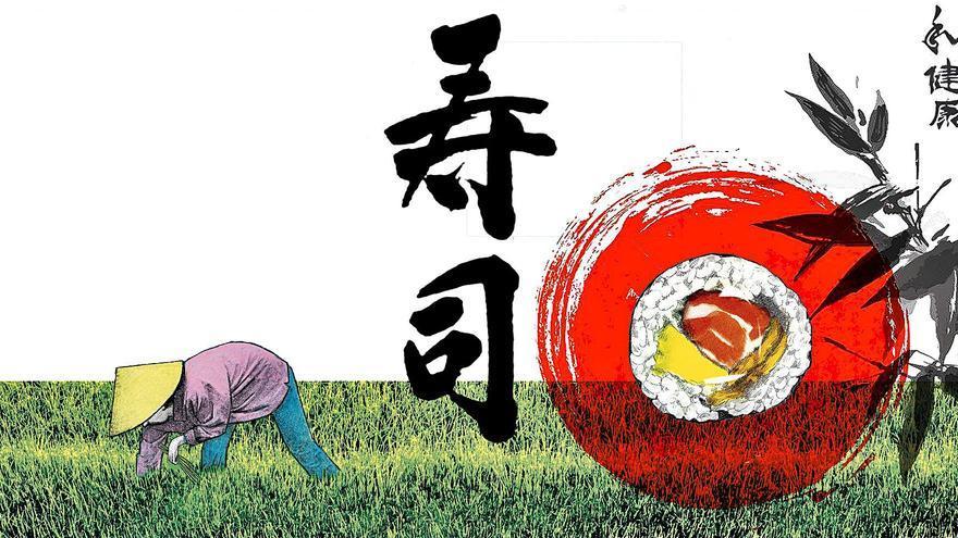 Reconversión japonesa del sushi