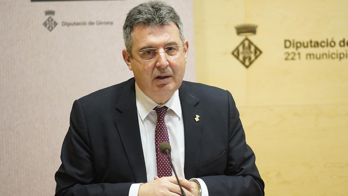 Miquel Noguer, president de la Diputació de Girona