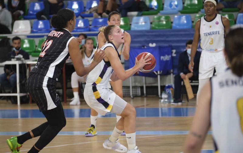 Eurocup Women: Clarinos Tenerife - Tango Bourges Basket