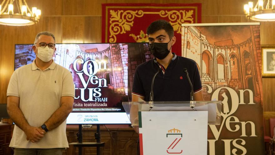 """""""Conventus FRAH"""": visitas teatralizadas para conocer el convento de San Francisco de Zamora"""