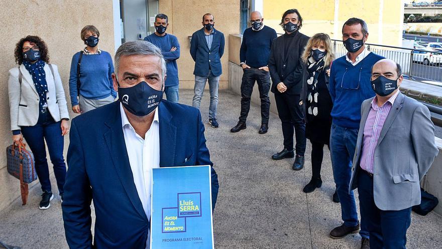 """El catedrático Lluis Serra presenta ante notario su """"compromiso"""" con la ULPGC"""