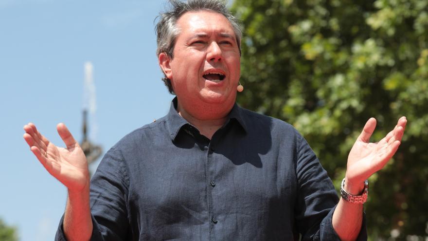 Espadas apela a la unidad en la presentación de su campaña a las primarias del PSOE andaluz