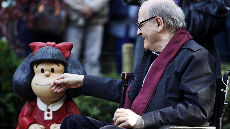 Mafalda se queda huérfana