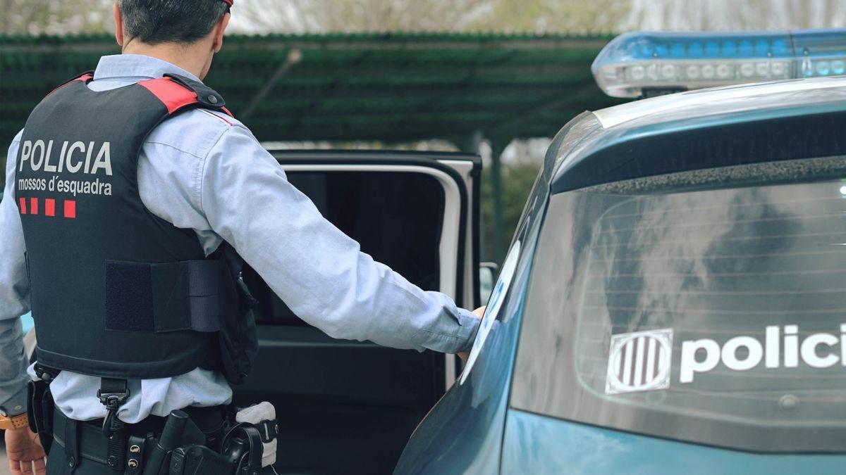 Un agent dels Mossos d'Esquadra, en una imatge d'arxiu