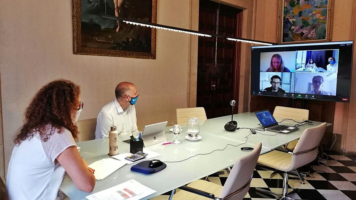 Consell Reunión con agentes turísticos alemanes y británicos | EUROPA PRESS