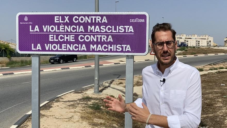 El PP critica 6.000 euros de gasto en carteles contra la violencia de género en Elche