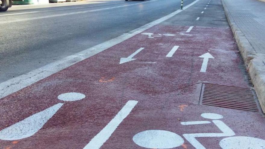 Palma dispondrá de 20 kilómetros más de carriles bici el próximo año