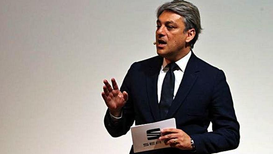 Luca de Meo deixa la presidència de Seat després d'un any de vendes rècord