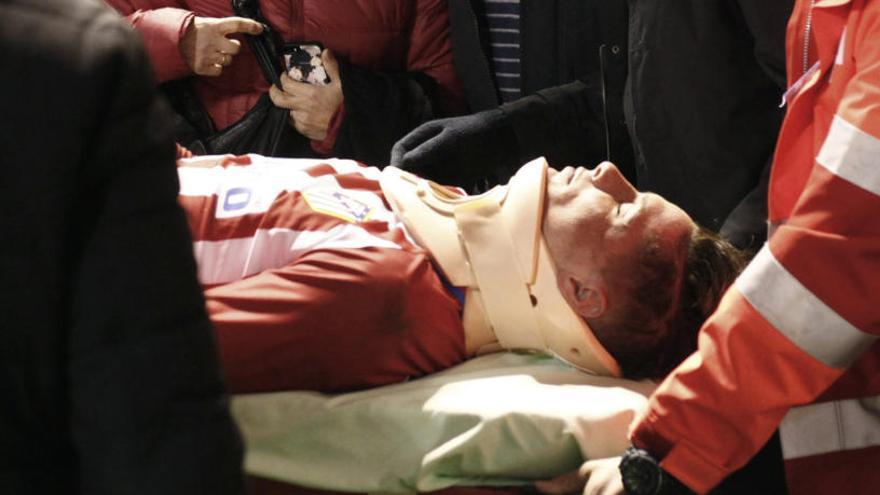 Torres torna a trepitjar la gespa després de la seva esgarrifosa lesió