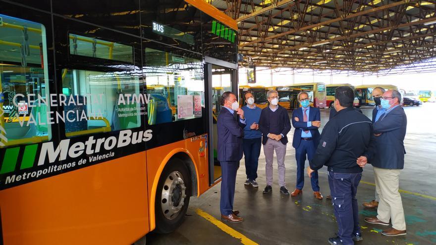 Las nuevas líneas de autobús entre València y l'Horta registran más de 11.500 desplazamientos desde febrero