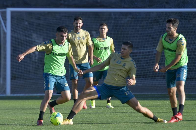 Entrenamiento de la UD Las Palmas (11/10/21)